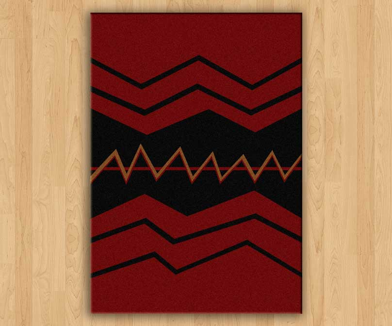 war path red drum rugs stage rugs. Black Bedroom Furniture Sets. Home Design Ideas